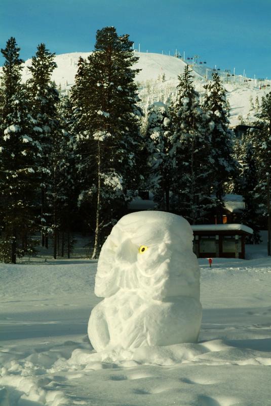 Lumiveistos Pyhällä