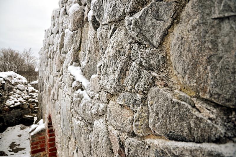 Huurretta muurissa